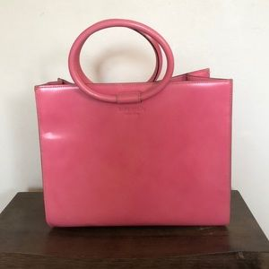 Kate spade leather handheld bag